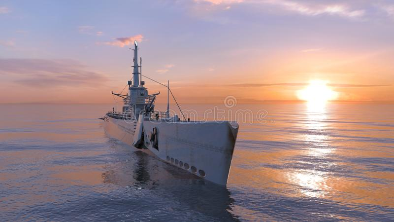 Escort ship stock images