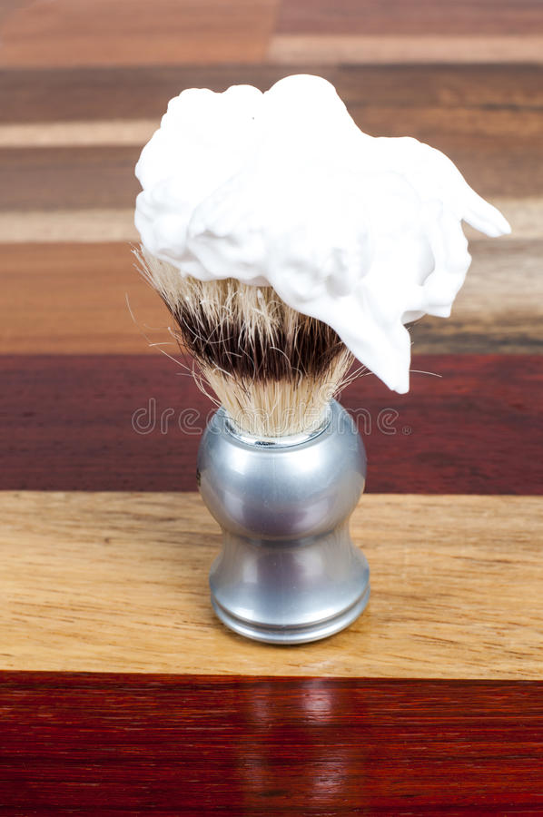 Acessórios do shave do ` s do homem imagem de stock