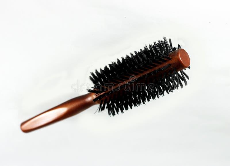 Escova de cabelo fotografia de stock