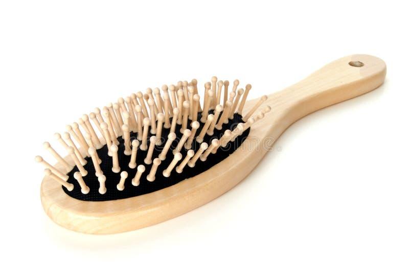 Escova de cabelo imagens de stock