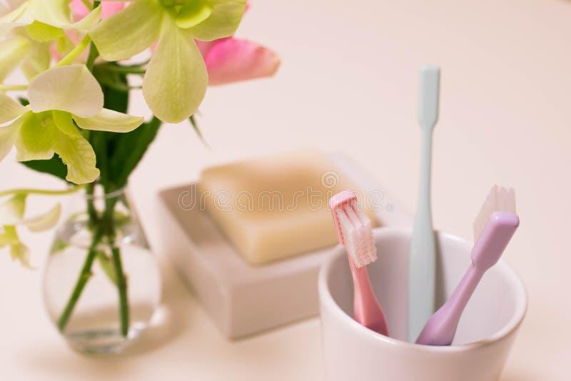 Escova de dentes imagem de stock royalty free