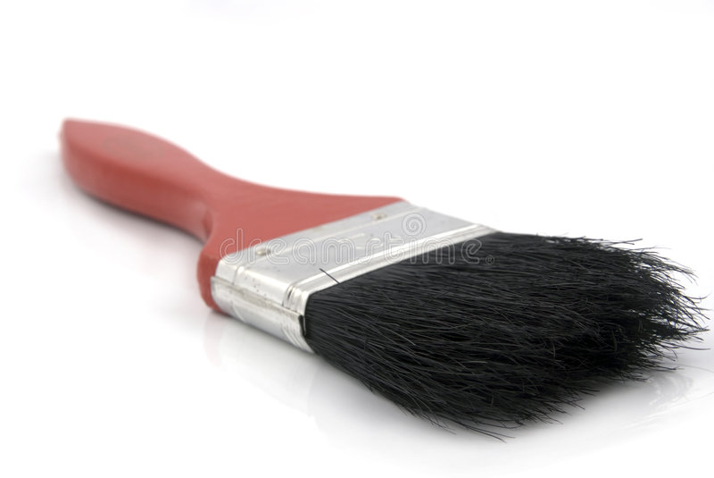 Escova de pintura imagens de stock