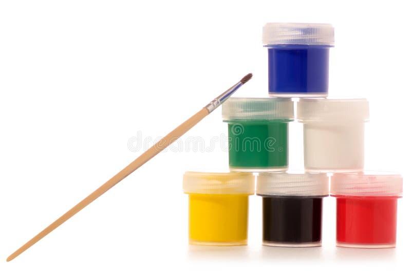 Download Escova De Pintura Do Guache Para Tirar Foto de Stock - Imagem de artista, desenho: 107528650