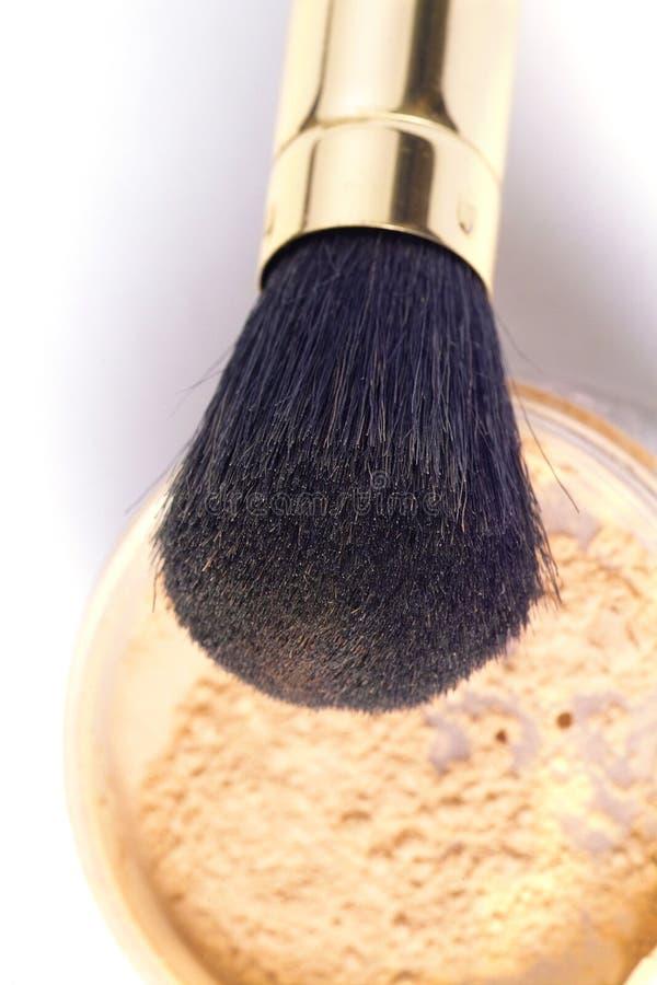 Escova do pó fotografia de stock