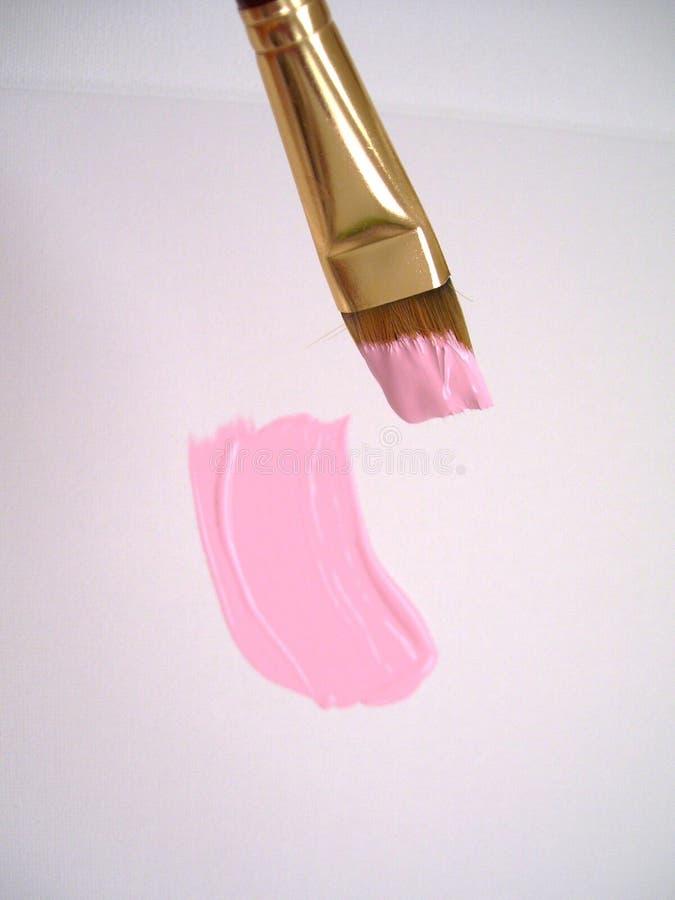 Escova em cores cor-de-rosa