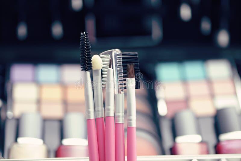 Escovas da composição foto de stock