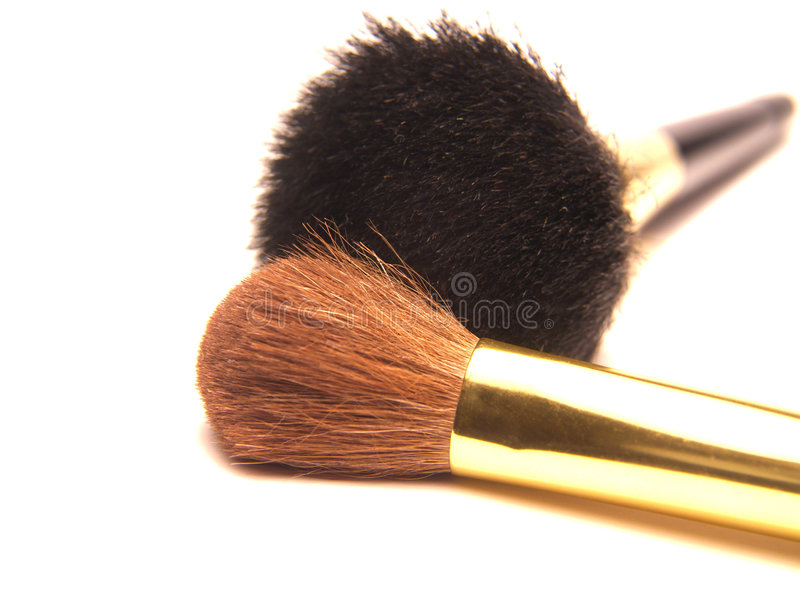 Download Escovas da composição foto de stock. Imagem de fibras, marrom - 534368