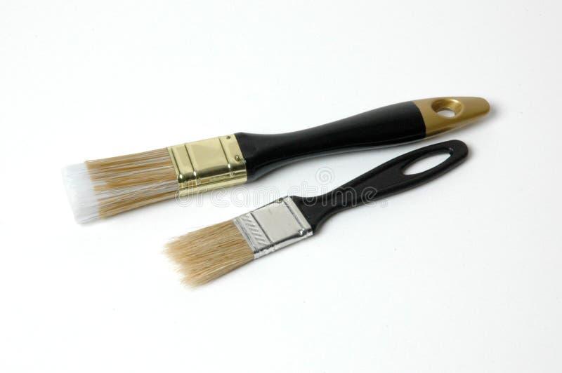 Escovas de uma cerda foto de stock