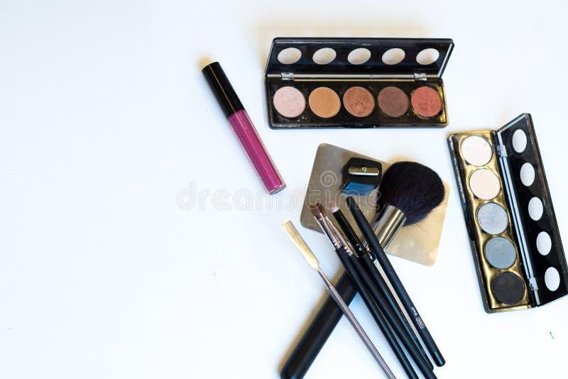 Escovas e ferramentas da composição imagem de stock