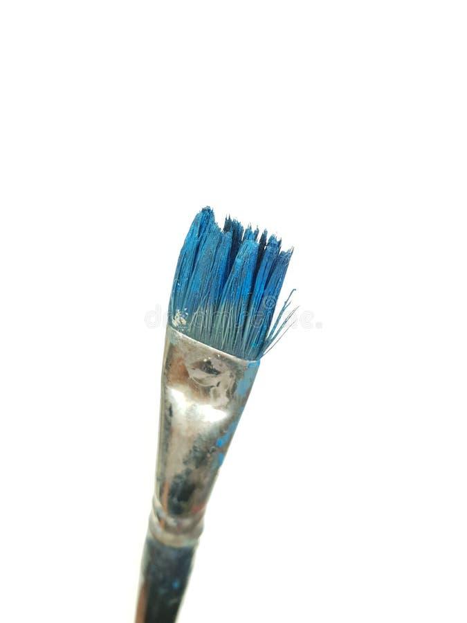 Escovas sujas fotografia de stock