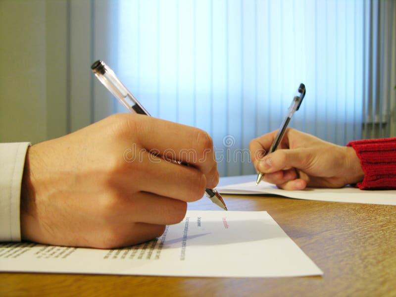 Escrevendo o para baixo