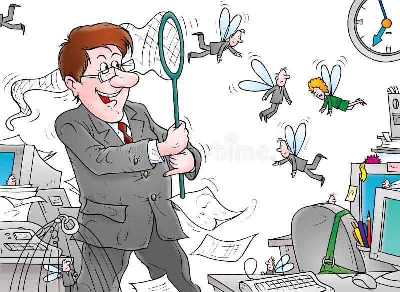 Escritório ilustração do vetor