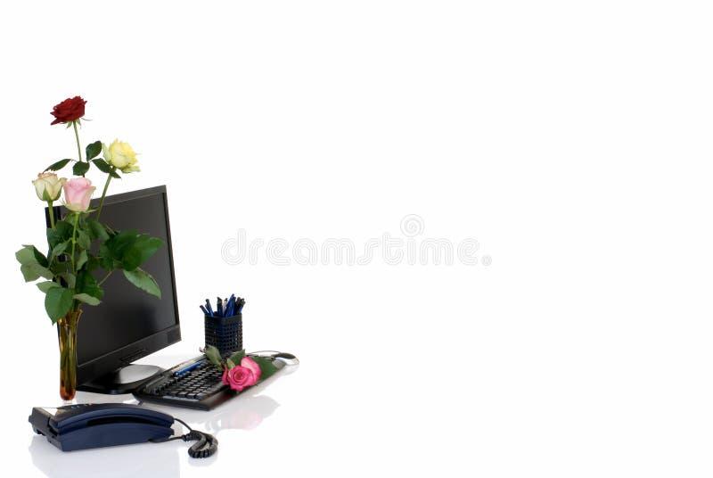 Escritório, dia da secretária fotografia de stock royalty free