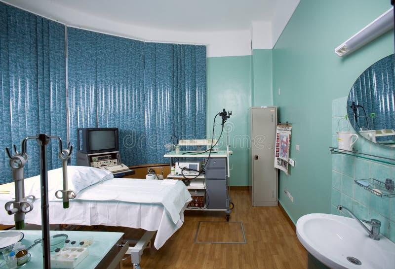Escritório diagnóstico? hospital fotografia de stock
