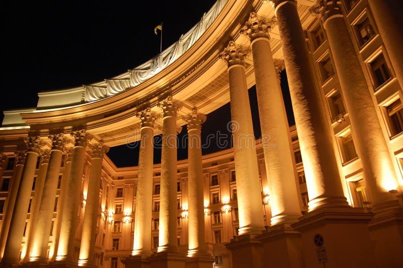 Escritório extrangeiro do ucraniano foto de stock royalty free