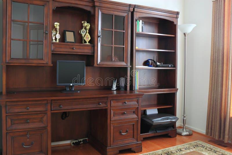 Escritório Home fotografia de stock royalty free