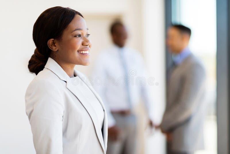 Escritório novo da mulher de negócios fotos de stock royalty free
