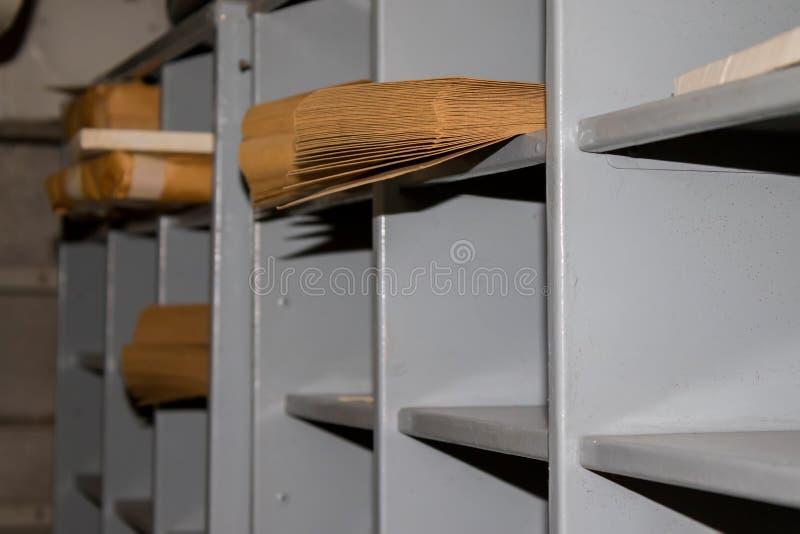 Escritório postal velho foto de stock royalty free