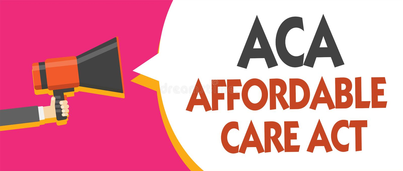 Escrita conceptual da mão que mostra a ACA o ato disponível do cuidado Foto do negócio que apresenta fornecendo o tratamento bara imagens de stock
