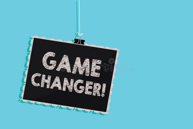 Escrita conceptual da mão que mostra o cambiador do jogo Goleador apresentando Gamestreams Live Scores Team Admin dos dados dos e fotos de stock royalty free