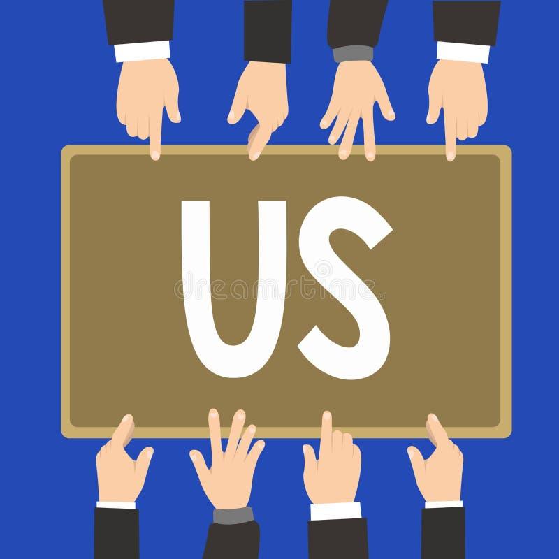 A escrita da palavra text nos Conceito do negócio para a informação exigida para contactar alguém uso da entidade alcançar mostra ilustração stock