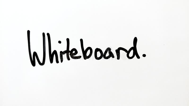 Escrita do marcador de Whiteboard ilustração do vetor