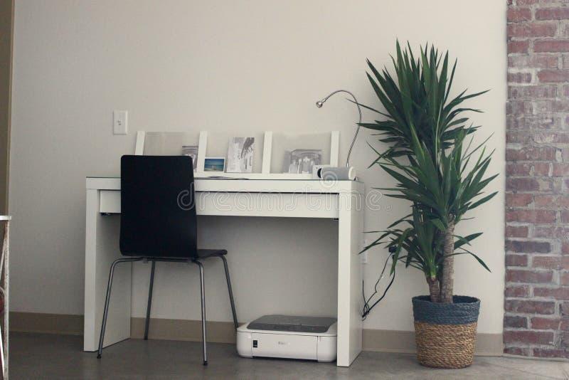 escritorio imagen de archivo libre de regalías