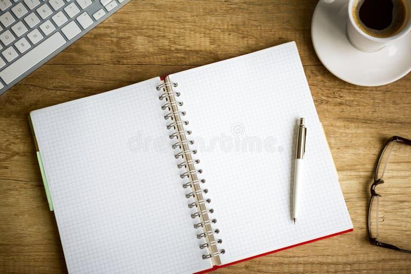 Escritorio arriba imagen de archivo libre de regalías