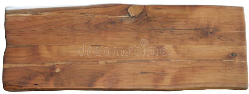 Escritorio de madera de la pera fotografía de archivo libre de regalías