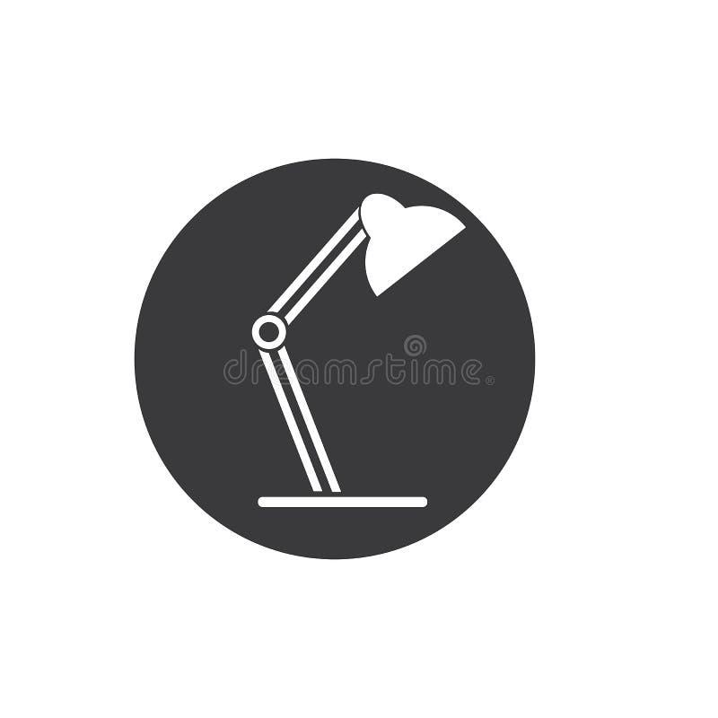 Escritorio Lamp ilustración del vector