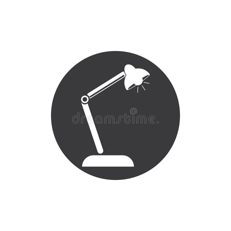 Escritorio Lamp stock de ilustración