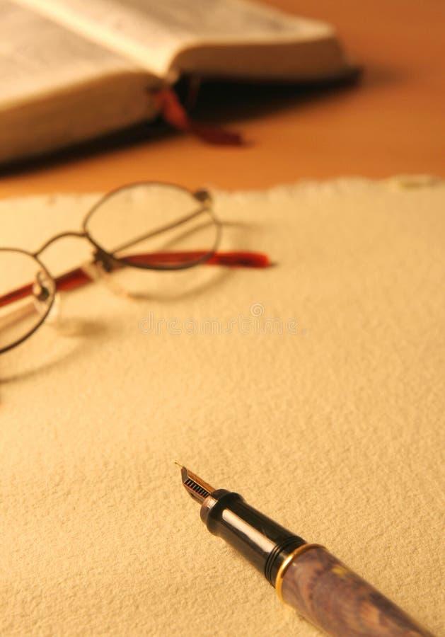 Escritura foto de archivo