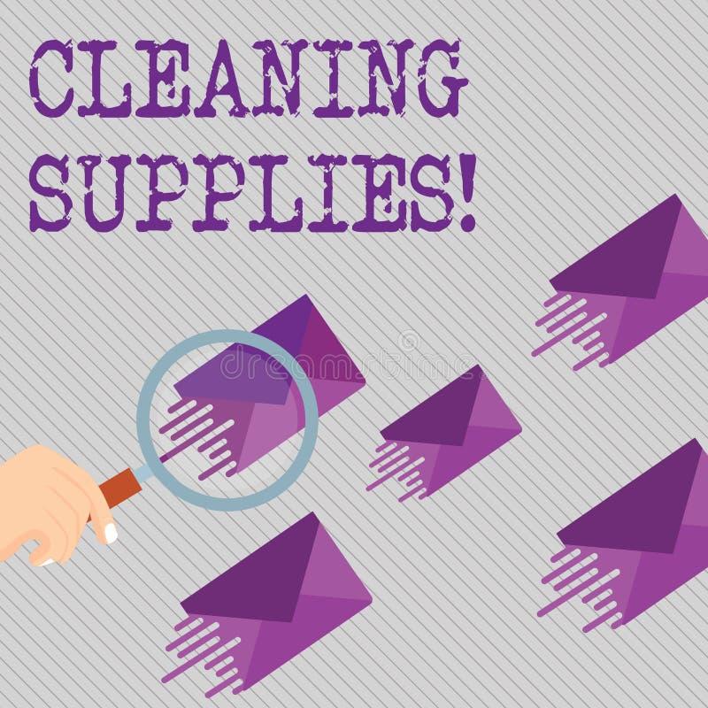 Escritura conceptual de la mano que muestra fuentes de limpieza Líquidos de exhibición de las sustancias de la foto del negocio g stock de ilustración