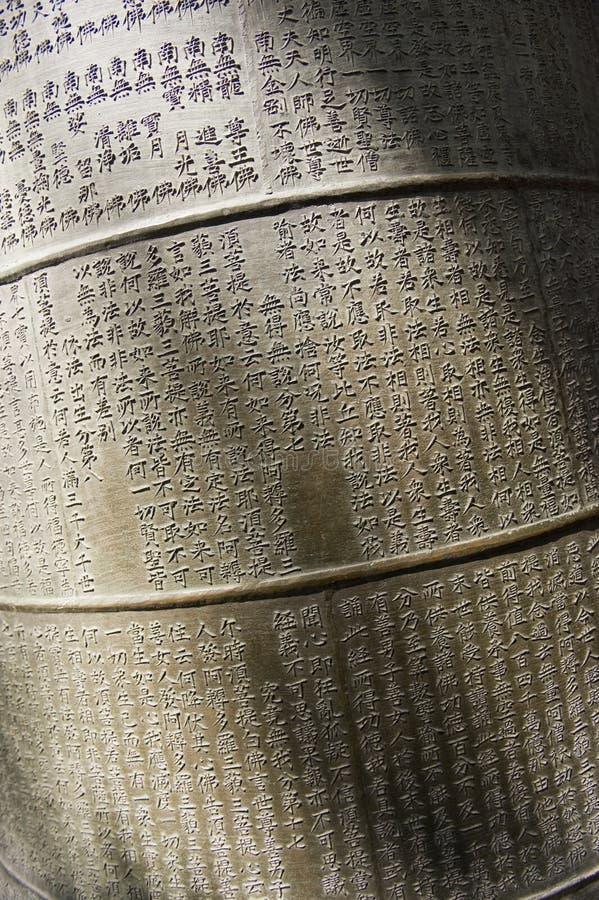 Escritura de Bell imagen de archivo libre de regalías