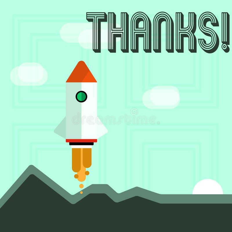 Escritura de la nota que muestra gracias Gratitud de exhibición del reconocimiento del saludo del aprecio de la foto del negocio libre illustration