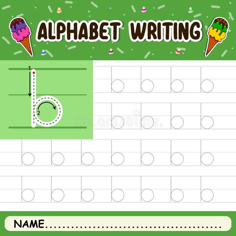 Escritura del alfabeto foto de archivo libre de regalías