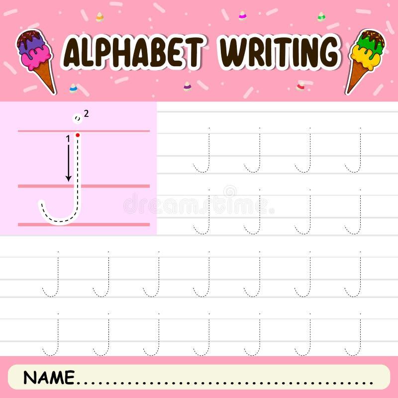 Escritura del alfabeto imágenes de archivo libres de regalías