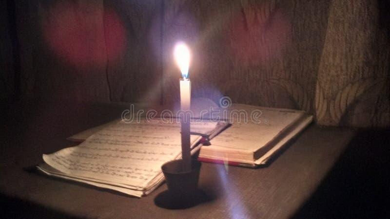 Escritura en la noche fotos de archivo libres de regalías