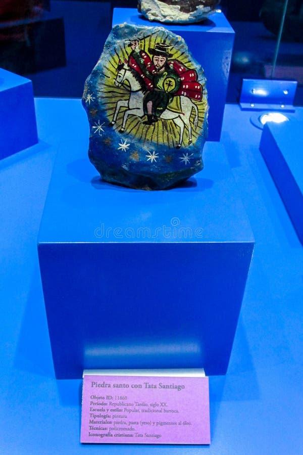 Escroc en pierre Tata Santiago de santo de Piedra de saint images libres de droits