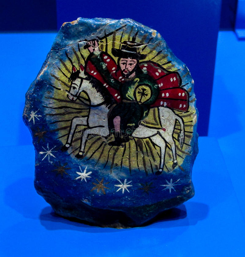 Escroc en pierre Tata Santiago de santo de Piedra de saint photo libre de droits