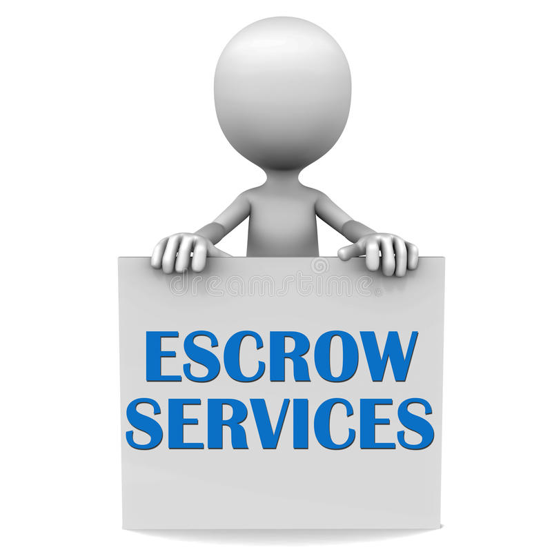 Escrow royalty free illustration