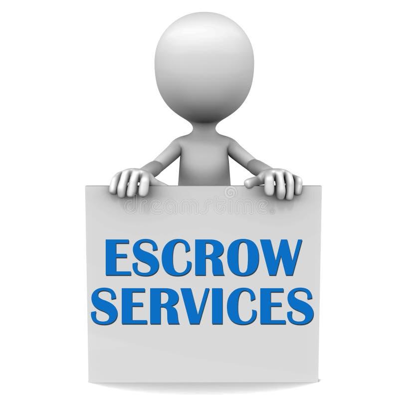 Escrow royalty ilustracja