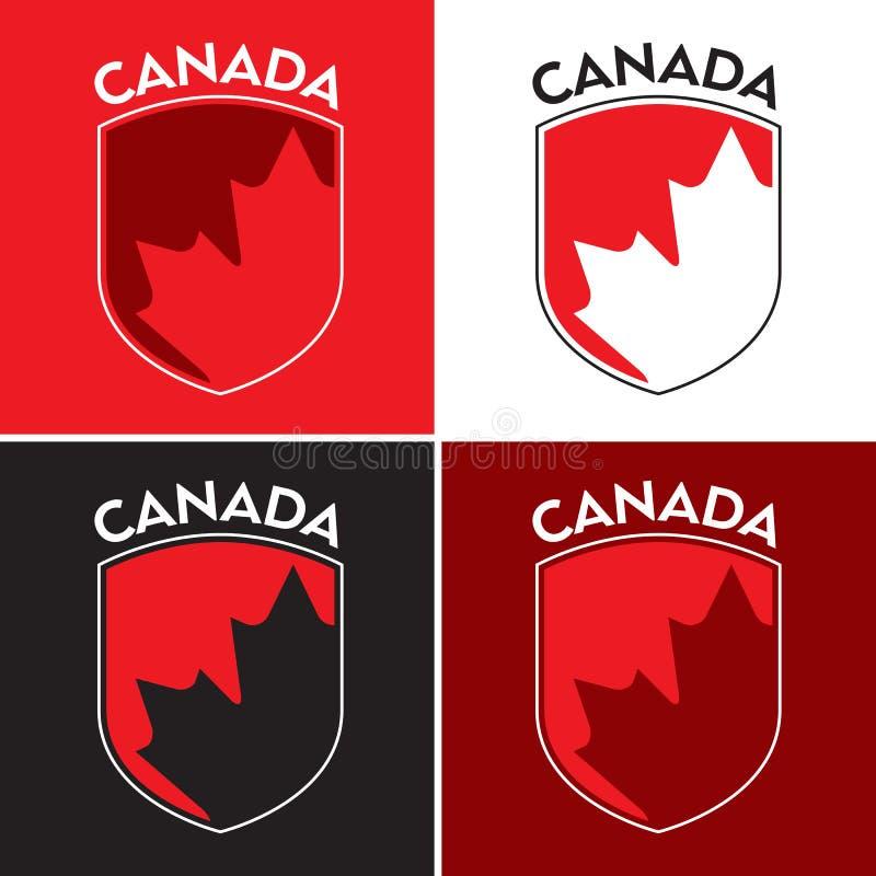 Escudo canadiense libre illustration
