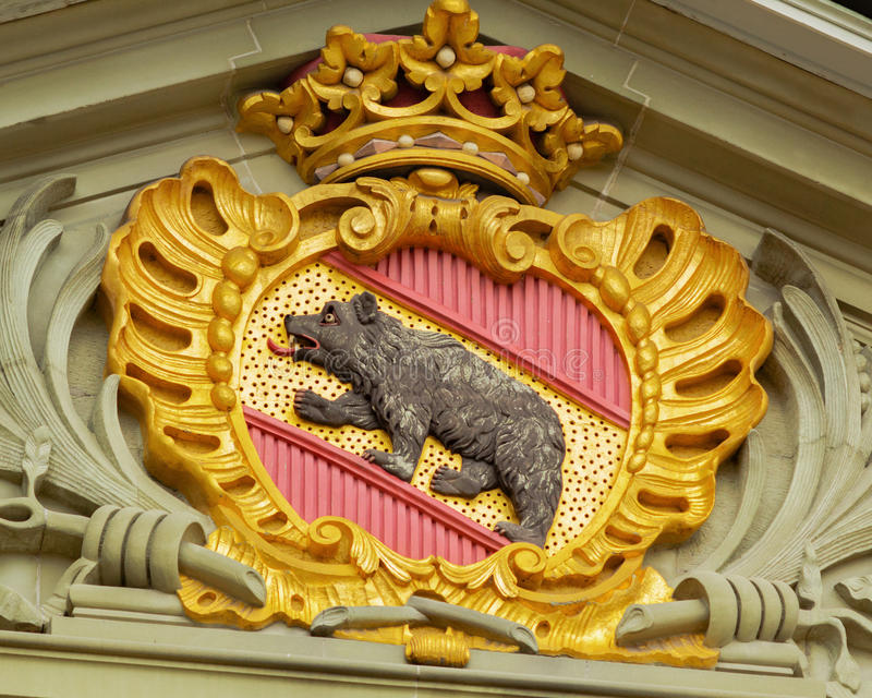 Escudo de armas de Berna fotos de archivo