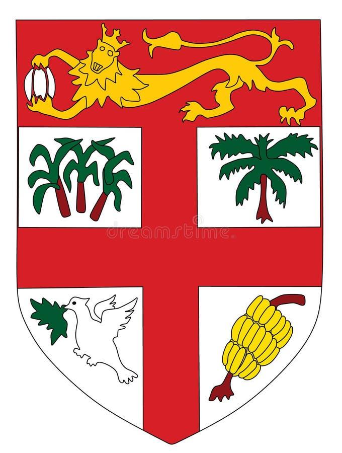 Escudo de armas de Fiji libre illustration