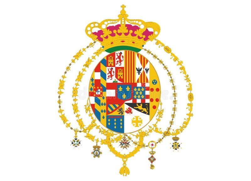 Escudo de armas de la familia de Borbón libre illustration