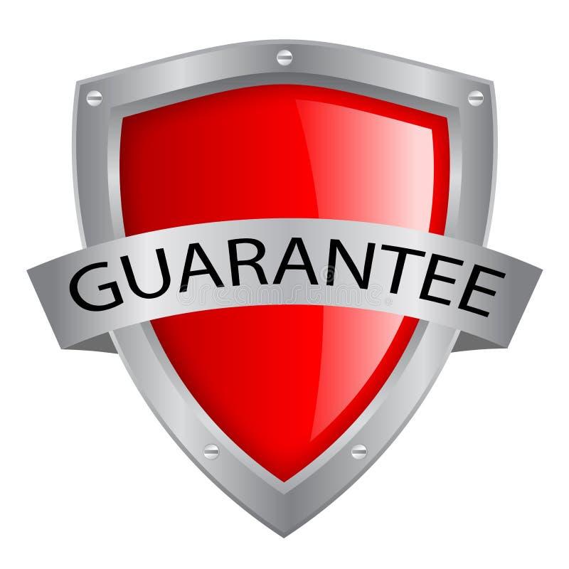Escudo de la garantía libre illustration