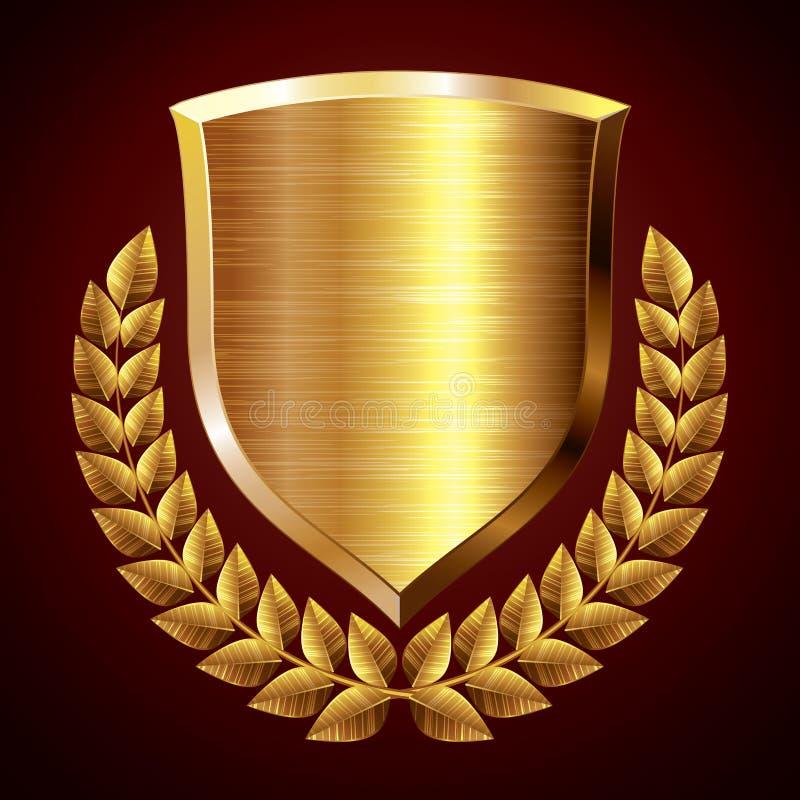 Escudo del oro libre illustration