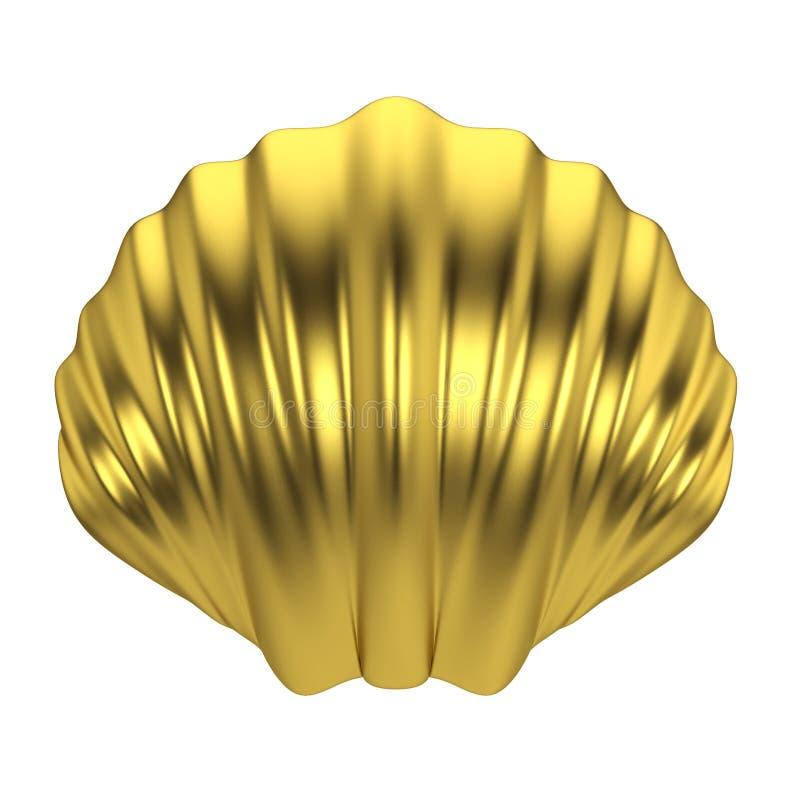 Escudo do mar ilustração stock