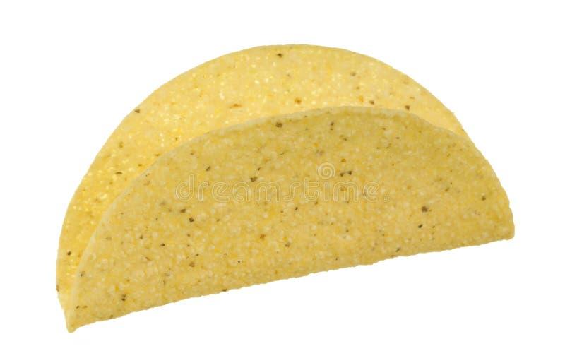 Escudo do Taco fotografia de stock